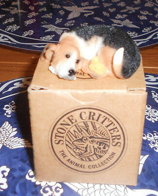Just Ducky Bassett Hound Figurine Stone Critters The Animal Collection
