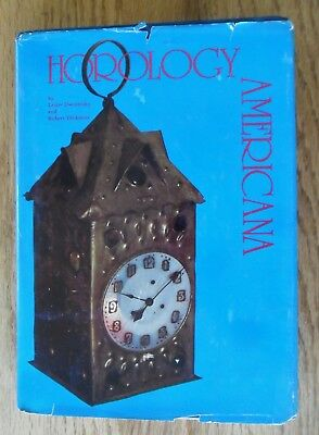 Horology Americana HC DJ Dworetsky & Dickstein Signed 1972 Antique Clocks