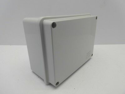 GEWISS GW44206 150x110x70mm ENCLOUSRE JUNCTION BOX PLASTIC WATERPROOF IP56 GREY