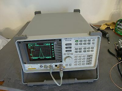 HP Agilent 8593E Spectrum Analyzer w/ various options 9 khz - 26 ghz pick opts