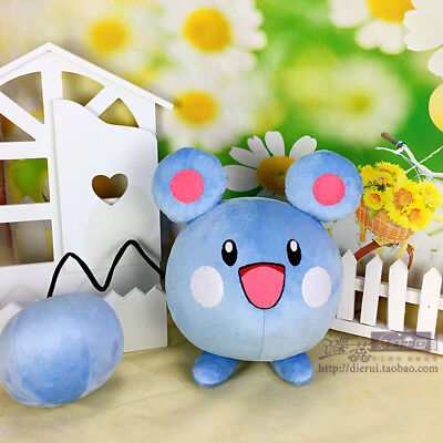 Anime Pokemon Go Cosplay Props Azurill Plush Doll Gifts Staffed Soft Pillow Toy