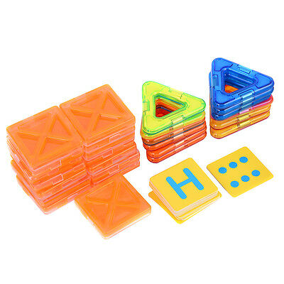 71 pcs Magical Magnetic Construction Building Blocks DIY Lots Geometric Models