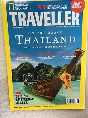 National Geographic Traveller Magazine September 2015 Issue 38