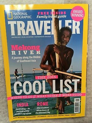 National Geographic Traveller Magazine Jan/Feb 2015 Issue 32