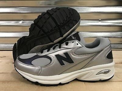 0a806788d8a0 New Balance 498 Walking Shoes Silver White Gray Leather Abzorb SZ ( ML498SL  )