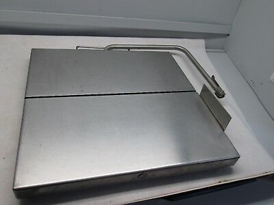 Countertop Commercial Stainless Steel Wire Cheese Cutter, 20 inch