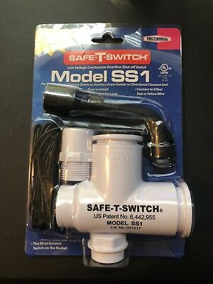 Rectorseal Safe-T-Switch Model SS1 Condensate Overflow Shut-off Switch 97632