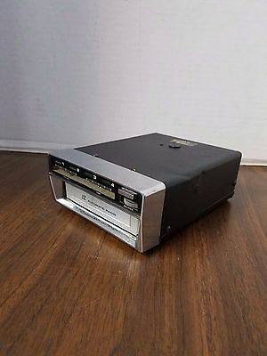 Vintage 1973 AUTOMATIC RADIO CAR AUTO 8-TRACK STEREO TAPE PLAYER SSS-2595D