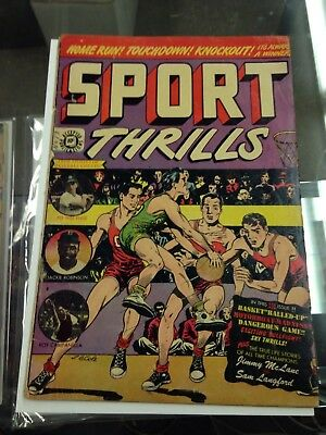 Sport Thrills 13 G/VG  L.B. Cole cover and stories Golden Age Star Publications
