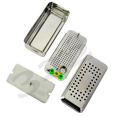 Dental PRF GRF Stainless Steel Box With Bowl and Tray Surgery Cassette
