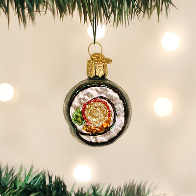 Old World Christmas Sushi Roll Glass Christmas Ornament 32110