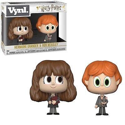 Funko Harry Potter Vynl Hermione Granger Ron Weasley Figure Set NEW IN STOCK