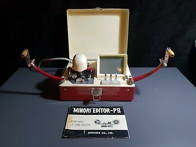 "Rokuwa ""Minori"" Editor-PII Portable 8 Cine Editor Made In Japan 60/70s"