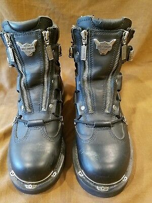 Harley-Davidson Men's Riding Boots Stock #91680 Size 8 1/2