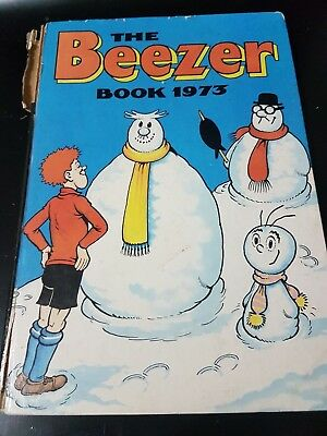 The Beezer Book 1973 Annual | Vintage | FREE Next Day Shipping