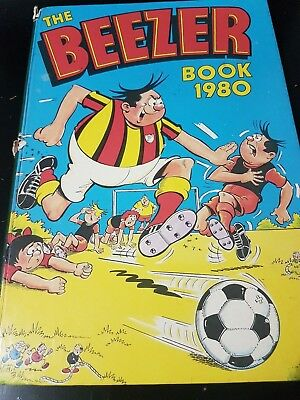 The Beezer Book 1980 Annual | Vintage | FREE Next Day Shipping