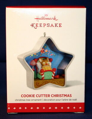 Hallmark Ornament 2015 Cookie Cutter Christmas # 4 In The Series