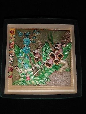 Picturesque Harmony Kingdom Byron's Secret Garden - Bell Tower Tile - New