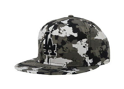 New Era 59Fifty Hat MLB Los Angeles Dodgers Mens Womens Camouflage 5950 Cap 66649ed75