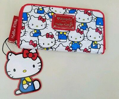 New Loungefly Hello Kitty Wallet NWT