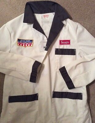 Vintage Sears Paint Department Jacket Coat For Great American Homes Like Yours