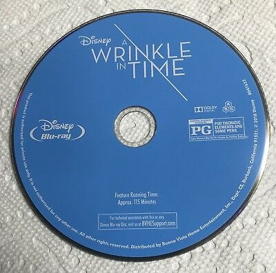 A Wrinkle in Time (Blu-ray DISC ONLY) * FAST FREE SHIPPING *