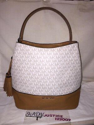87586b230accc9 MICHAEL KORS KIP Large Bucket Bag Tote Satchel Luggage NWT - $239.99 ...