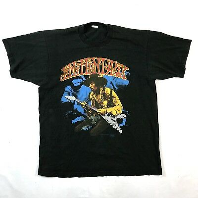 RARE 1983 Vintage JIMI HENDRIX Backstage Pass Double Sided Tshirt