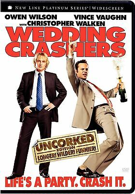 Wedding Crashers DVD (Unrated Widescreen) BuyCheapDVD Auction FAST FREE SHIPPING