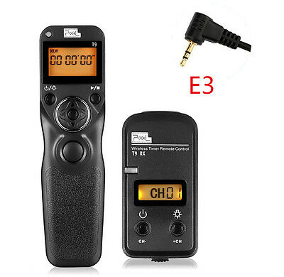 Pixel TW-283/E3 Wireless Shutter Release Timer Remote Control For Canon EOS