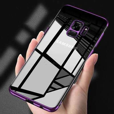 Luxury Ultra Slim Shockproof Hybrid Clear Case Cover for Samsung Galaxy S9 S8 S7