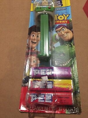 *Buzz Lightyear Pez Dispenser - Toy Story Candy - New In Package (old) A-219