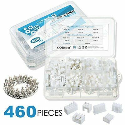 460 PCS 90 Sets JST 2.54mm XHP - 2 / 3 / 4 Pin Housing and Female Pin Header