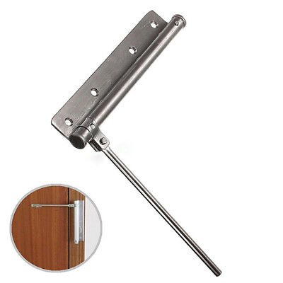 1x Brand New Stainless Steel Changeable Surface Mounted Auto Closing Door Closer