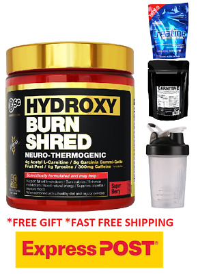 Bsc Hydroxyburn Shred Fat Burner / Weight Loss Hydroxy Burn Oxyshred Free Amino