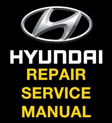 Hyundai accent repair manual | ebay.