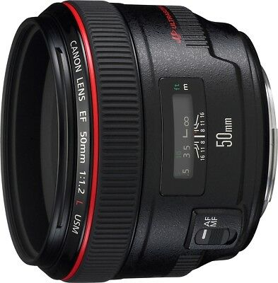 Canon new EF 50mm f/1.2L USM