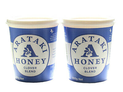 NZ Clover honey, Arataki (NZ), 2 * 500gms twin pack, free shipping