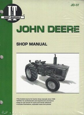 John Deere Workshop Manual For Models 1020, 1520, 1530, 2020 & 2030