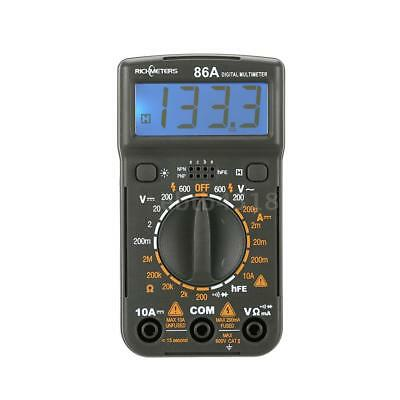 RM86A Multimeter Voltmeter Amperemeter Ohmmeter AC DC Spannung Strom Tester B4A9