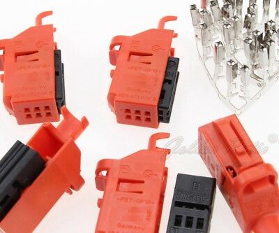 4D0 971 636 B 5pcs with Contact Pins OEM Plug For Audi VW SEAT SKODA