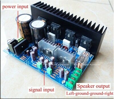 A5 UPC1342V 150W*2 2SC5200 2SA1943 Dual-Ch Power Amplifier Finished Board