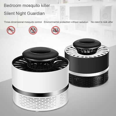 Electric Insect Mosquito Fly Killer Bug Zapper LED Trap Lamp Home Kitchen Indoor