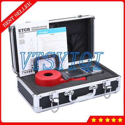 ETCR2100C+ Multi-functional Clamp On Ground Earth Resistance Meter Tester