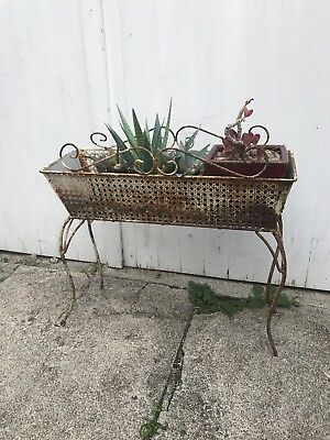 Plant Stand Metal, Steel, Ornate ,see Others I Have Too