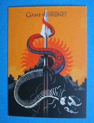 2016 **GAME Of THRONES** Beautiful Death # BD38 Season 5 Insert/Chase Card