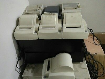 Mixed Lot of 7x Thermal Receipt Printers 80mm w/adapters