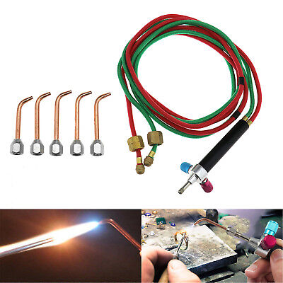 Jewelry Jewelers Micro Mini Gas Little Torch Welding Soldering Tool Kit & 5 Tips