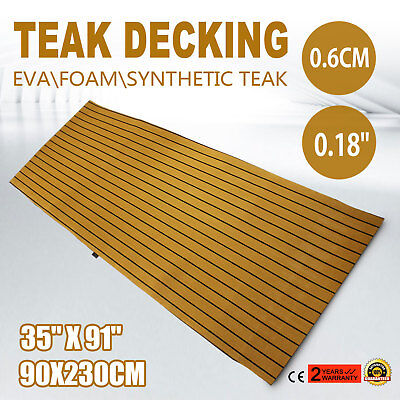 Flooring Synthetic EVA Foam Teak Sheet Decking Marine Flooring Use