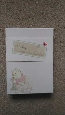 Winnie the Pooh Baby Record Book Collection. Brand new